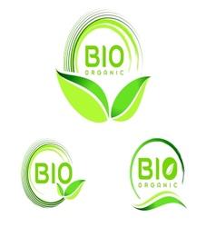 Bio Eco Logo Eco icon design vector image