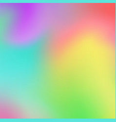 abstract fresh colorful gradient background vector image