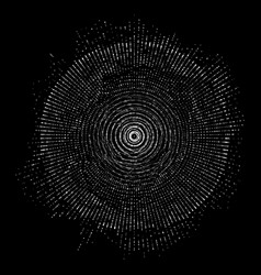 Abstract sphere particles points vector
