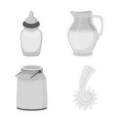 Design product and calcium symbol set vector