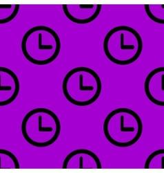 Watch web icon flat design Seamless pattern vector image