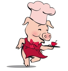 piglittlemin vector image vector image