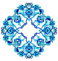 Artistic ottoman pattern series fifty three vector