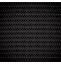 black background carbon fibre texture vector image