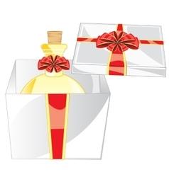Box with spirit vector