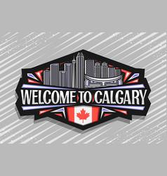 Logo for calgary vector