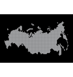 map of russia geography vector image