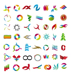 Universal collection of abstract icons vector