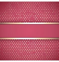 Grunge Vintage Golden Border vector image vector image
