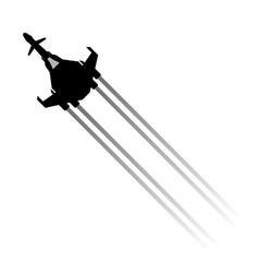 speed travel vector image