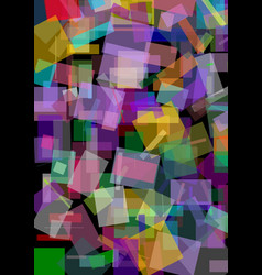 Abstract background with variegated overlaping vector