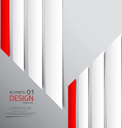 abstract business design vector image