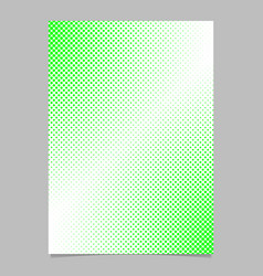 abstract halftone dot pattern brochure cover vector image