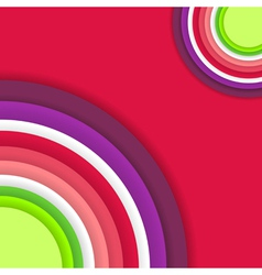 Bright Abstract Colour Background vector