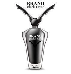 happy halloween perfume or potion realistic vector image