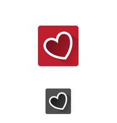 Love app icon vector