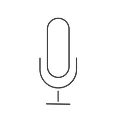 microphone icon microphone icon in trendy vector image