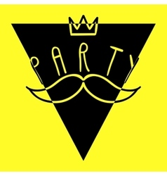 Party Handdrawn Poster 3 vector