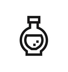 Potion icon vector