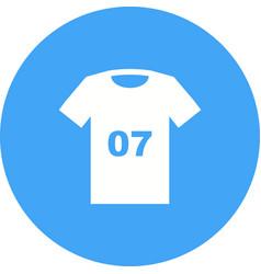 Sports shirt vector