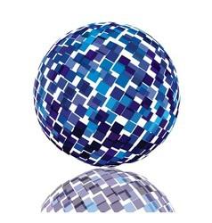 Technology sphere vector image