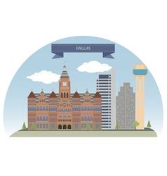 Dallas vector image