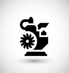Motor icon vector image
