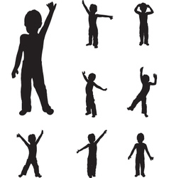 child dancing vector image vector image