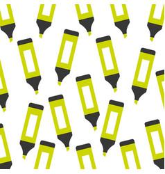 highlighter pen pattern background vector image