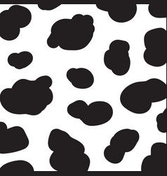 cow pattern abstract background seamless pattern vector image