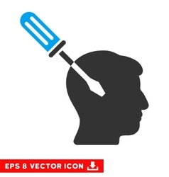 Intellect Screwdriver Tuning Eps Icon vector image vector image