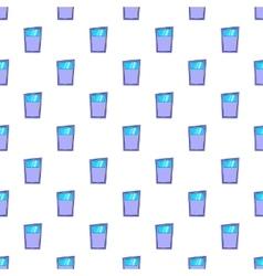Kitchen door pattern cartoon style vector image vector image