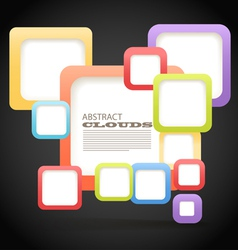 Abstract blocks vector