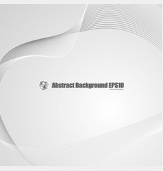 abstract gray background with transparent wave vector image