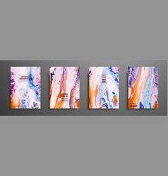 abstract painting can be used as a trendy vector image