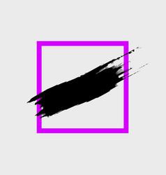 brush stroke vector image