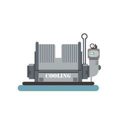 cooling brewing production process vector image