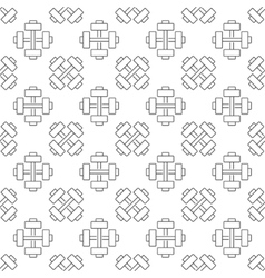 gym or sport seamless pattern vector image