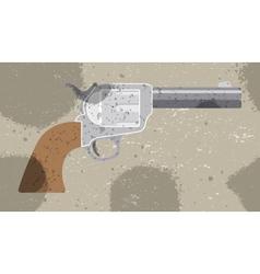 Revolver retro background pattern for textile vector