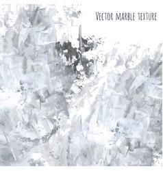White gray black scribble marble watercolor vector