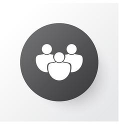 Group icon symbol premium quality isolated team vector