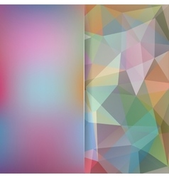 Abstract background consisting of colorful vector