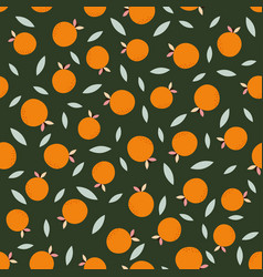 Abstract pattern with orange vector