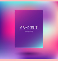 abstract template rectangle frame pink purple vector image