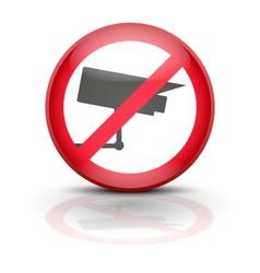 Anti spyware icon symbol vector image