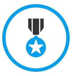 Army prize icon vector
