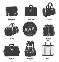 Bag 01 B W 01 vector