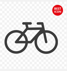 bicycle concept cycling icon bike isolated vector image