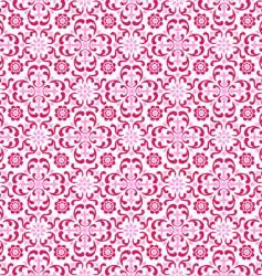 crimson floral vector image