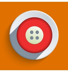Flat icon on orange background eps10 vector